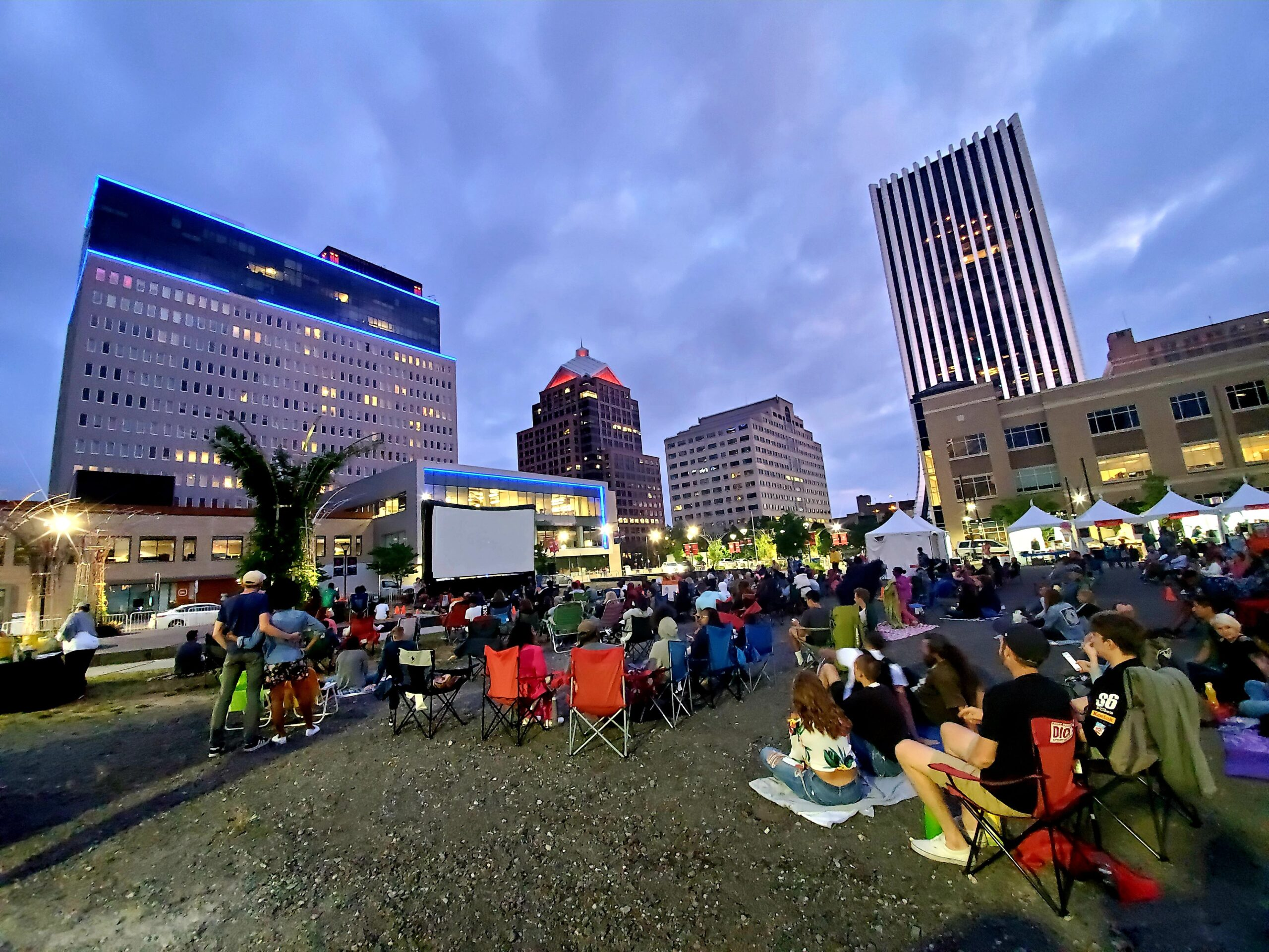 Free Outdoor Movies Downtown