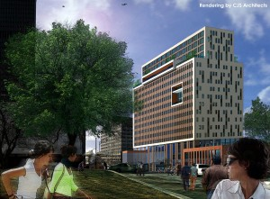 Buckingham Partners with Morgan Management for Midtown Tower Redevelopment